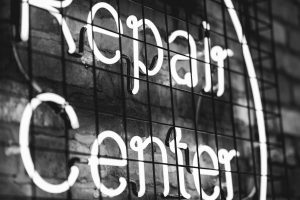 Repair Centre Sign