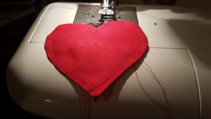 Work in Progress: Machine Sewing Part Done