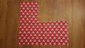 My Fabric with Reindeer Print