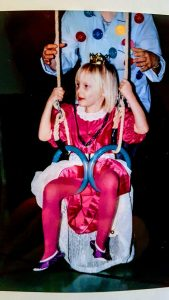 Me in My Princess Dress. The Photo Was Featured in Our Local Newspaper.