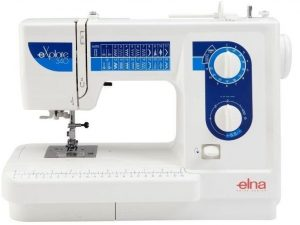 Example of A Mechanical Sewing Machine: Elna Explore 340