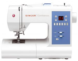 Example of an Electronic Sewing Machine: Singer Confidence 7465