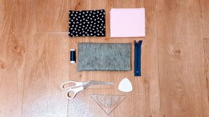 What You Need to Make Zip Pouches