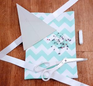 What you need to make your own bunting