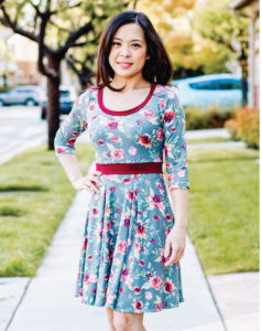 The Valley Knit Skater Dress From Sinclair Patterns, free pattern
