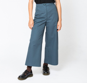 The Wide Leg Pant from In The Folds, free pattern