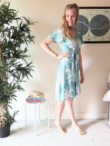 Eve Dress from Sew Over It London, fabric from Til The Sun Goes Down