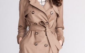 Isla Trench Coat From name