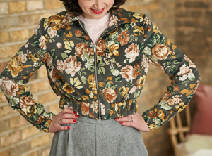 The Amelia Bomber Jacket From Lisa Comfort